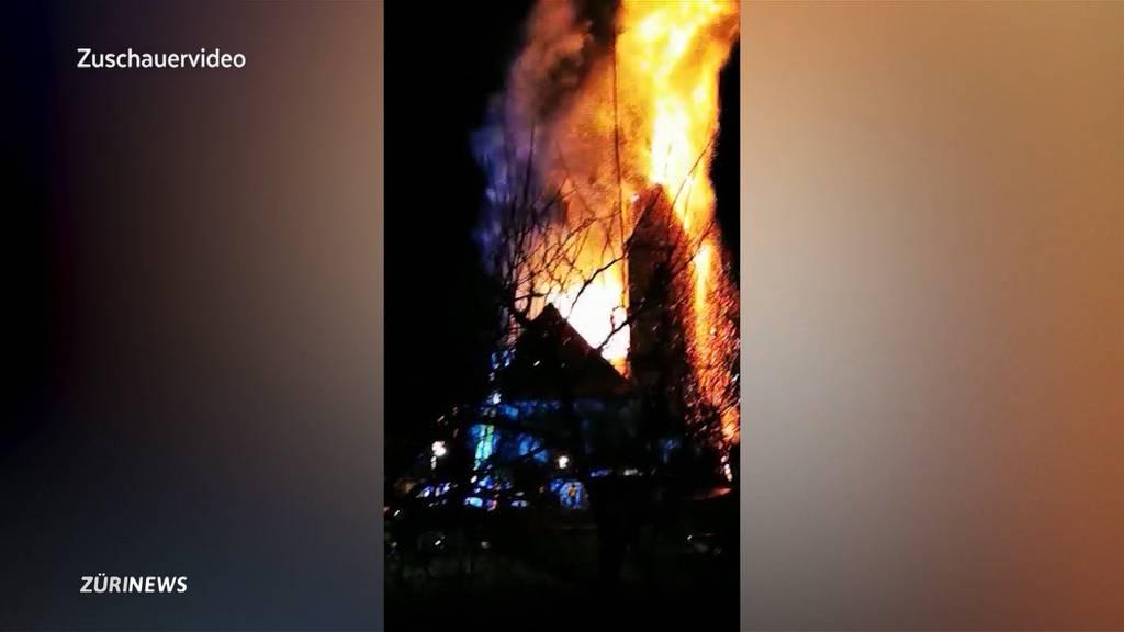 Kirchturmbrand Herzogenbuchsee: Betroffenheit ungebrochen