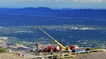 """Wegen des Gaslecks in der Nähe von Los Angeles mussten rund 4500 Familien die Gegend verlassen. Nun hat die zuständige Gasfirma das Leck nach eigenen Angaben """"unter Kontrolle"""". (Archivbild)"""