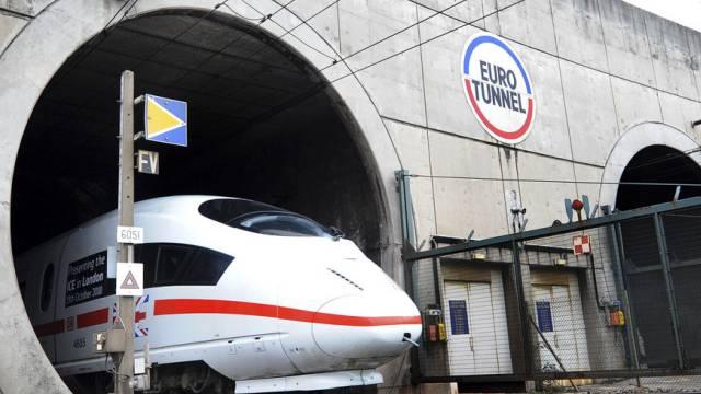 Der Bahnbetrieb im Eurotunnel läuft wieder normal (Archivbild).