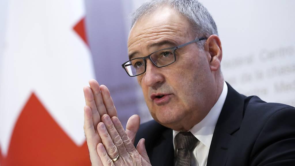 Bundesrat Parmelin eröffnet Kampagne für Efta-Freihandelsabkommen