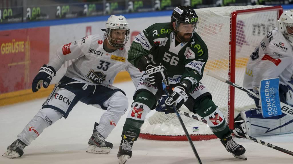 Der EHC Olten gewinnt gegen HC La Chaux-de-Fonds deutlich mit 6:2