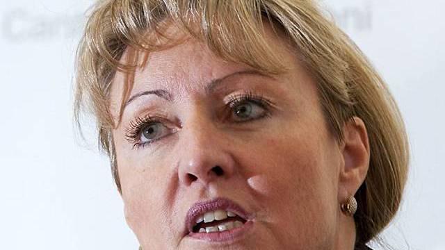 Die Bündner Regierungsrätin Barbara Janom Steiner