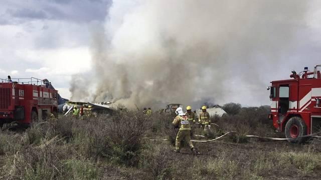 Flugschreiber nach Flugzeugunglück in Mexiko gefunden