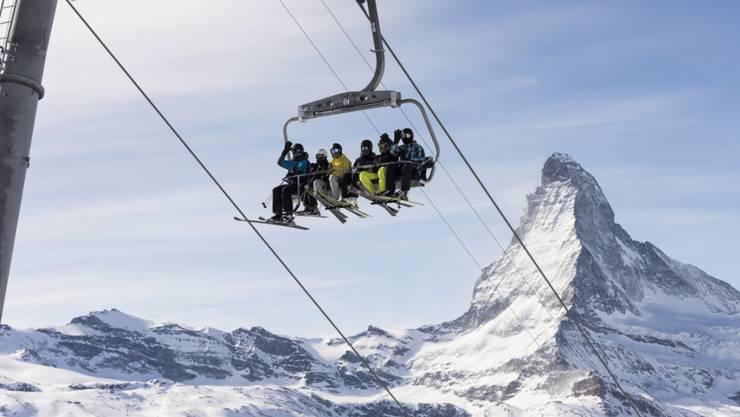 Die Schweizer Tourismusbranche konnte in diesem Februar mit den Hotelübernachtungen nicht ganz an den Spitzenwert vom Vorjahr anknüpfen. Es ist aber immer noch der zweitbeste Februar seit 2015.  (Themenbild)
