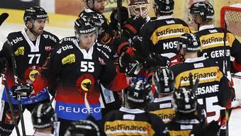 Der SC Bern liegt nunmehr noch drei Punkte hinter dem 8. Platz zurück
