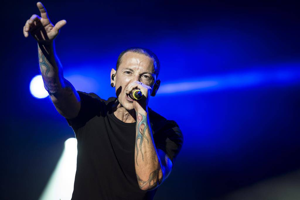 Chester Bennington (© Keystone)