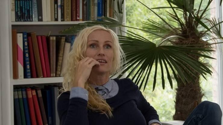 """Simone Bargetze bei den Dreharbeiten für den Dokfilm """"Fearless Journey"""": Nach aufregenden Jahren als Stuntfrau in Hollywood ist die 41-Jährige in Zürich sesshaft geworden. (Pressebild)"""