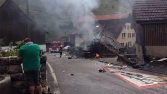 Das tragische Unglück von 2015, bei dem ein Pilot ums Leben kam, hat in Dittingen viele Ängste ausgelöst.