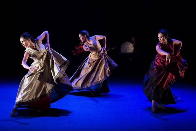 Tanzcompagnie Flamencos en route auf Tournee mit der Produktion «Ritual & Secreto», Alte Reithalle, Aarau, 17. September 2016.