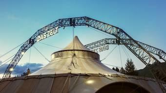 Das grösste Schweizer Tourneetheater, «Das Zelt», gastiert vom 2. bis 17. Juni beim Baseltor.