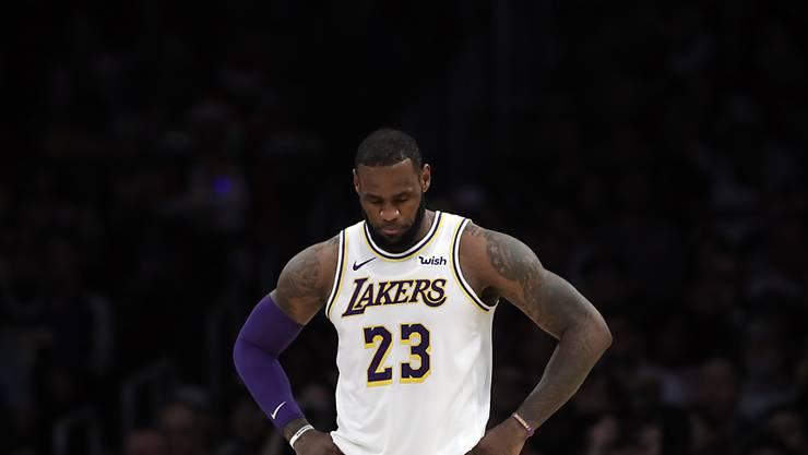 LeBron James hofft, dereinst mit seinem Sohn in der NBA auf dem Parkett zu stehen