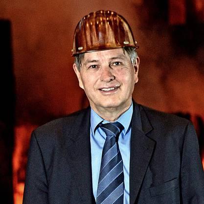 Marcel Imhof als CEO von Swiss Steel im Januar 2013 in Emmen
