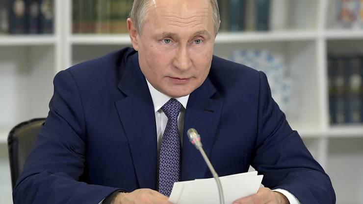 Seine Amtszeit läuft 2024 ab: Wer nach Wladimir Putin kommt, ist nicht absehbar. (Archivbild)
