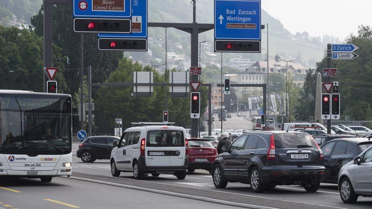 Noch ist der Verkehr in Baden nicht ganz auf Vor-Corona-Niveau. (Archivbild)