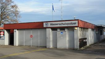 Wasserschutzpolizei Zürich - nun wird das Gebäude neu gebaut.