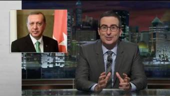 Aus der Satire-Sendung «Last Week Tonight with John Oliver».