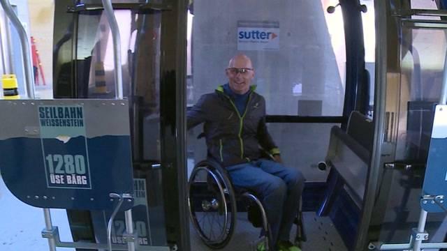 Weissenstein im Rollstuhl-Test