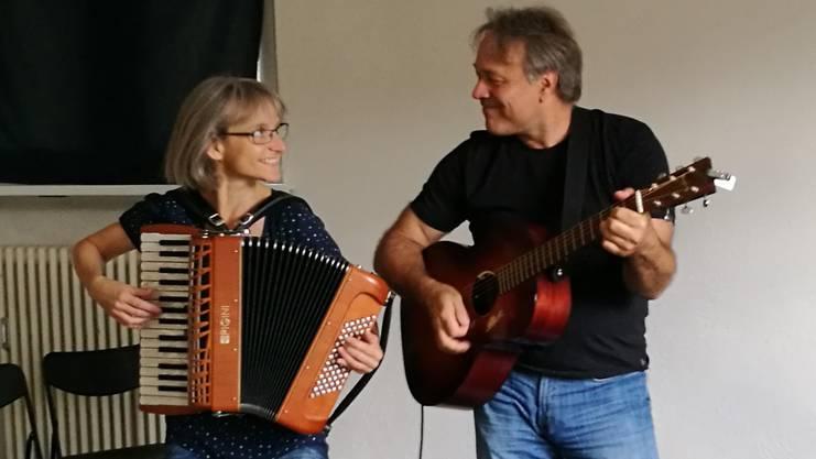 Heidi Christen und Stefan Baier haben sich an der Scuola Dimitri kennengelernt.
