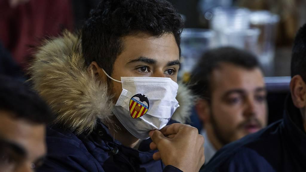 35 Prozent der Belegschaft von Valencia sind infiziert