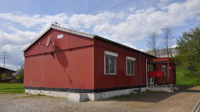 Die Asylunterkunft in Möhlin – hier ohne Zaun. (Archivbild)