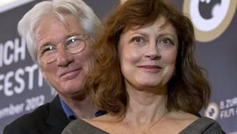 Filmstars Richard Gere und Susan Sarandon in Zürich