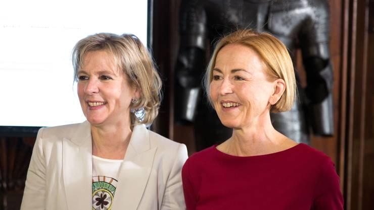 Brigit Wyss (Grüne) und Susanne Schaffner (SP). (Archiv)