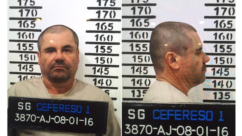 «El Chapo» ist hinter Gitter.