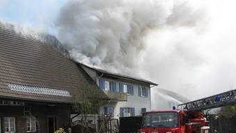 Gränichen: Brandausbruch in Wohnhaus