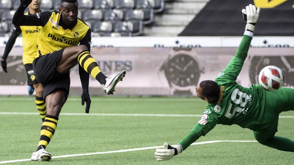 Einmal mehr eiskalt: Jean-Pierre Nsame glänzt beim 3:0-Heimsieg über Lugano als dreifacher Torschütze