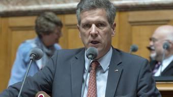 Der Baselbieter Nationalrat Thomas de Courten interessiert sich für einen Sitz in der Baselbieter Regierung.