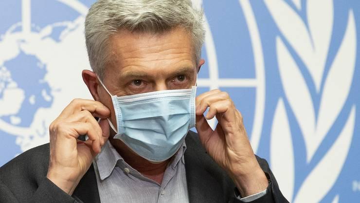 UNHCR-Chef Filippo Grandi in Genf.