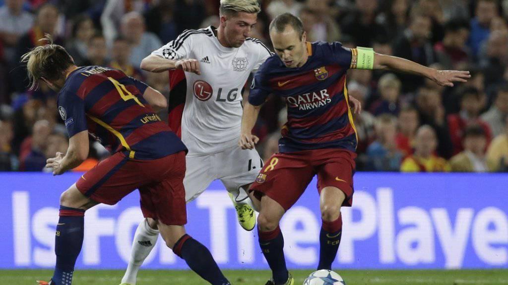Andres Iniesta wird dem FC Barcelona voraussichtlich einen Monat fehlen.