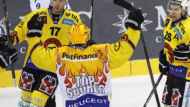Die Berner freuen sich über den achten Sieg in Serie