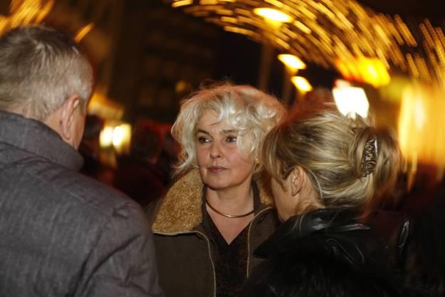 Abschiedsapero von Boris Banga auf dem Marktplatz Grenchen
