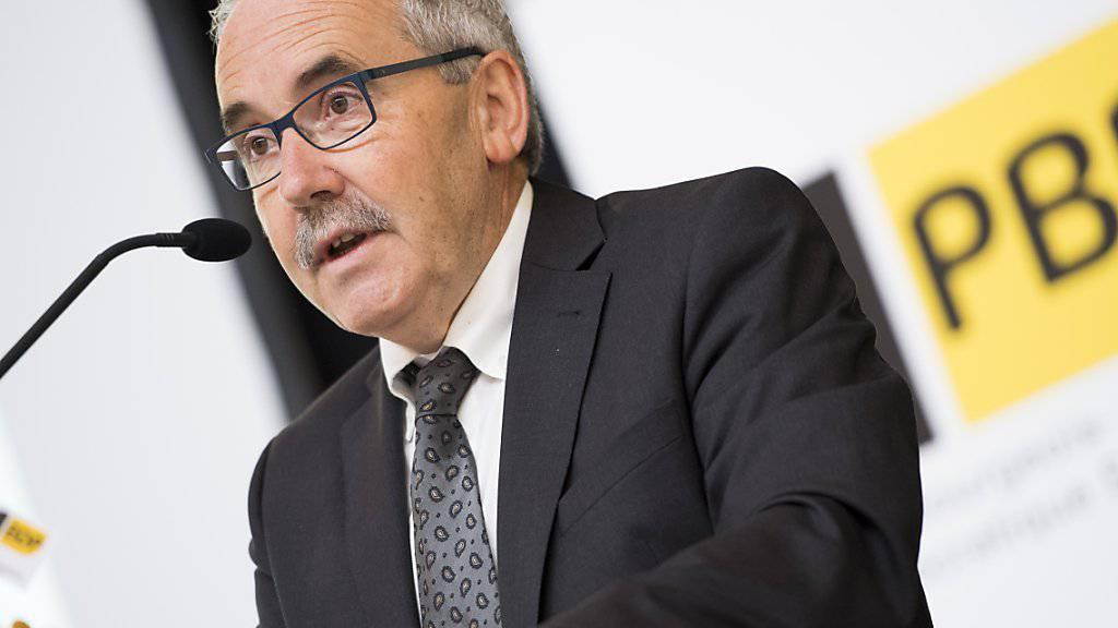 «Im Herbst ist es allerhöchste Zeit»: Der Berner BDP-Nationalrat und BDP-Mitgründer Hans Grunder tritt per Ende der Legislatur aus dem Parlament zurück. (Archivbild)