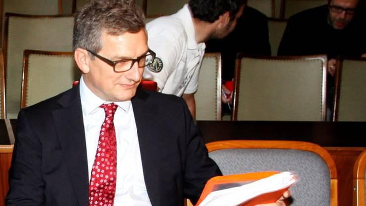 Alexander Segert 2011 bei einem Gerichtstermin in Österreich.