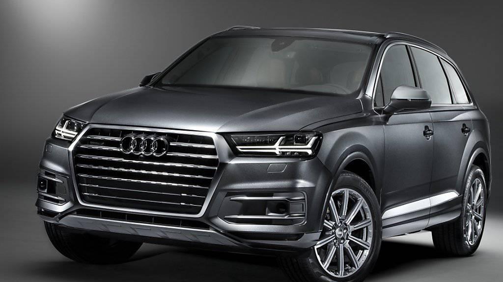 Trotz Dieselgate: Die Verkäufe von Volkswagen in den USA zeigten sich im Oktober erstaundlich robust. Vor allem der Tochterkonzern Audi glänzte. Dessen schwere SUVs scheinen es den Amerikanern angetan zu haben.