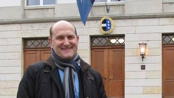 Roland Basler war gestern zum letzten Mal als Grossrat im Grossratsgebäude. cwu