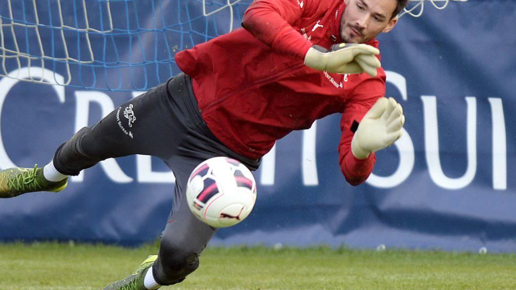 Keeper Roman Bürki gegen die Slowakei die Schweizer Nummer 1