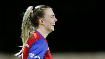 Bereits fünf Tore in vier Spielen: Camille Surdez spielt sich zurück in den Fokus der Nationalmannschaft.