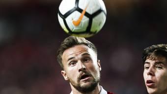 Durfte sich erstmals seit Wochen wieder einmal beweisen, wenn auch nur für ein paar Minuten: Benfica Lissabons Schweizer Stürmer Haris Seferovic
