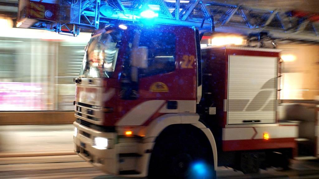 Zwei Boote bei Brand in Beckenried NW beschädigt