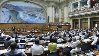 Nationalratssaal im Bundeshaus (Archiv)