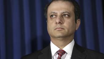New Yorks Star-Staatsanwalt Preet Bharara hat fast 50 mutmassliche Mafiosi angeklagt, die unter anderem in New York aktiv sein sollen. Ihre Vergehen erinnern offenbar an einen alten Mafia-Roman. (Archivbild)