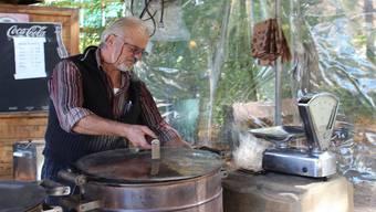 Seine Freundlichkeit wurde dem bekannten Bad Zurzacher Marroniverkäufer Giovanni Fresi zum Verhängnis. Nadja Rohner