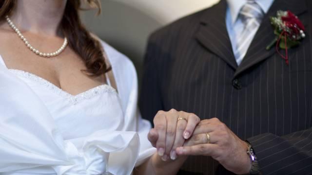 Ehe von Frau und Mann: Für CVP ein Ideal, das in Verfassung soll