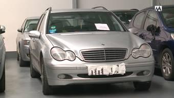 Diesen Mercedes will der Kanton Aargau einem deutschen Raser wegnehmen