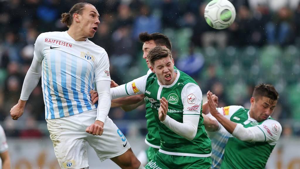 Der FC St.Gallen wurde in der zweiten Halbzeit förmlich überrennt.