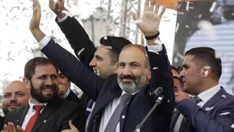 Armenien hat am Samstag ein neues Parlament gewählt. Dies rund ein halbes Jahr nach den friedlichen Protesten, die den damaligen Oppositionspolitiker Nikol Paschinjan an die Regierung brachten. (Archivbild)
