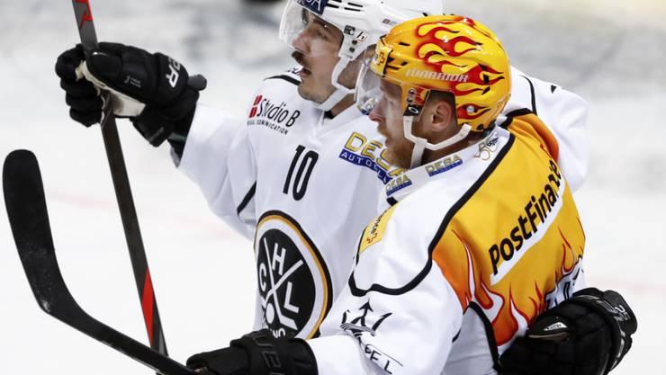 Topskorer Linus Klasen schoss den HC Lugano zum Heimsieg gegen Davos